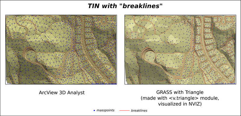 ArcView GRASS TIN breaklines.png