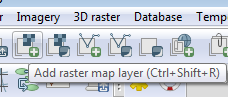 Add raster layer button