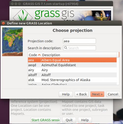 GRASS Location Wizard - GRASS-Wiki