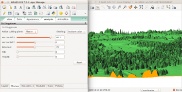 Processing lidar and UAV point clouds in GRASS GIS (workshop